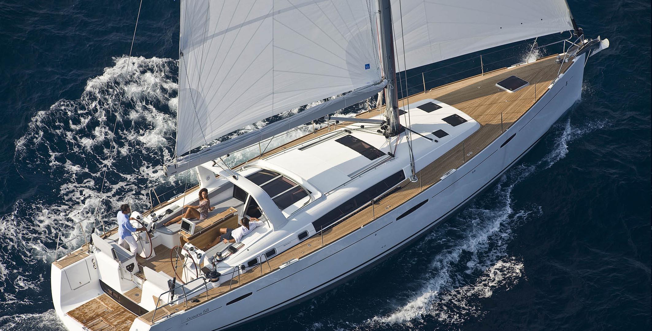 oceanis sail boat
